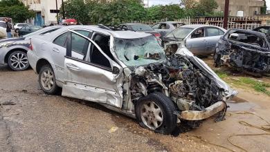 حادث جماعي على طريق جودائم