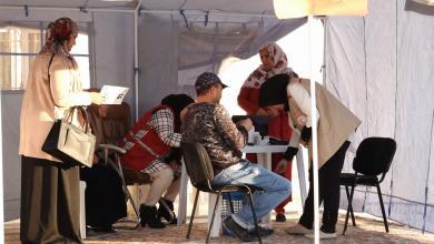 حملة توعية بمرضى السكري - جمعية الاهلال الاحمر الليبي