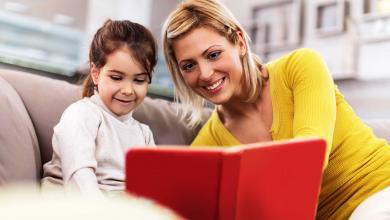 صورة من أين تبدأ؟.. 5 فوائد تشجعك على القراءة لأطفالك