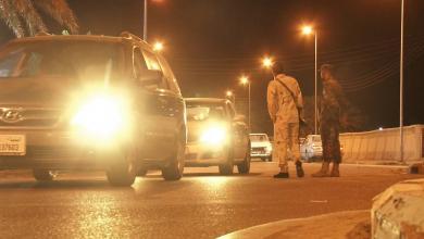 صورة تحرك أمني عسكري في تراغن ضد العصابات