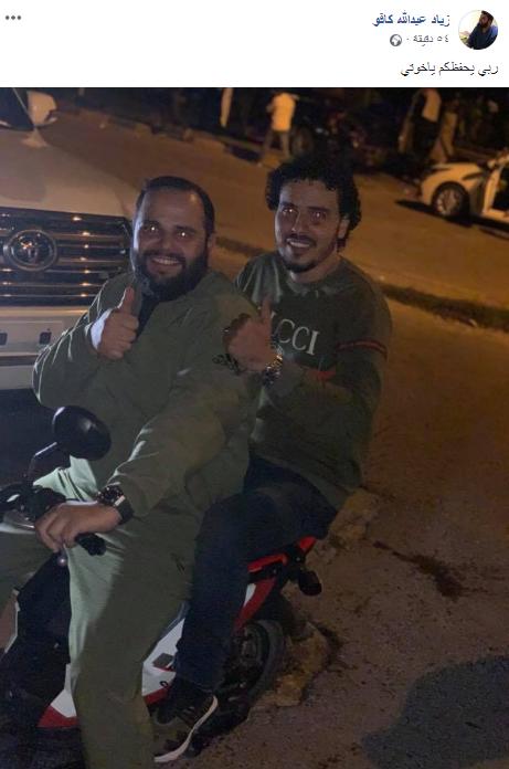 زياد كافو، أحد أبرز قيادات كتيبة ثوار طرابلس