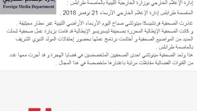 صورة إدارة الإعلام الخارجي.. تخبُّط يضرب سمعة الإعلام الليبي