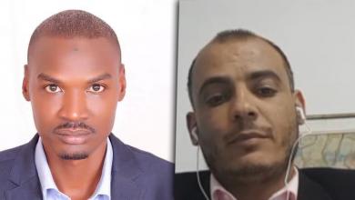 الصحفي التونسي بسام حمدي والصحفي السوداني عباس محمد صالح
