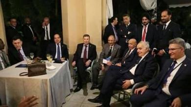 غسان سلامة وعقيلة صالح وفايز السراج وأحمد معيتيق