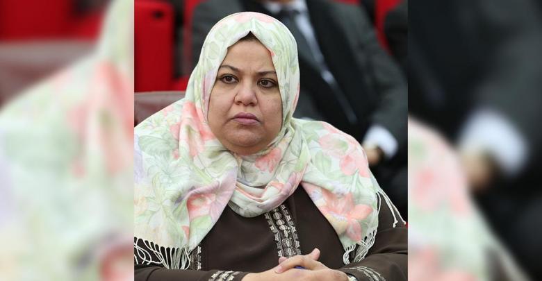 عضو الهيئة التأسيسية لصياغة مشروع الدستور نادية عمران