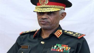 وزير الدفاع السوداني عوض بن عوف