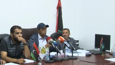 المؤتمر الصحفي لرابطة أندية طرابلس والمنطقة الغربية الرافضة لانطلاق الدوري الممتاز