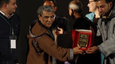 الفنان الليبي شرح البال عبدالهادي - مخرج المسرحية الفائزة