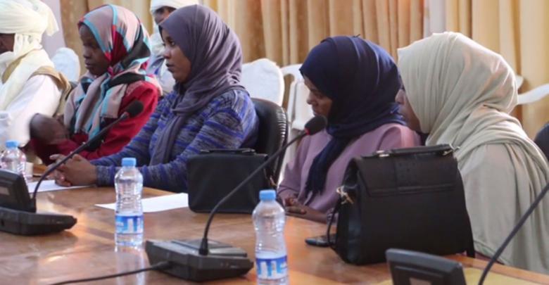 جانب من الحضور النسائي لحوارية غات