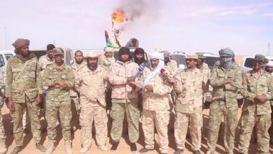 وحدات عسكرية لحماية حقل الشرارة في وقفة احتجاجية