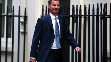 جيرمي هانت - وزير الخارجية البريطاني
