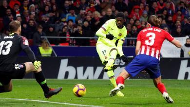 "Photo of ديمبيلي ينقذ برشلونة في موقعة ""ميتروبوليتانو"""