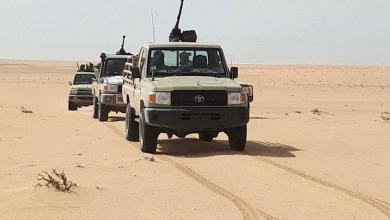 الخليج العسكرية تدفع بقوة مسلحة اتجاه تازربو