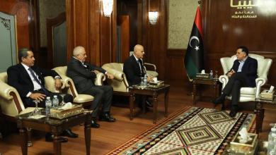 اجتماع فائز السراج ووفد من شركة إيني الإيطالية- طرابلس