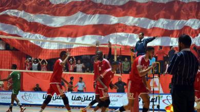Photo of فوز مثير للأهلي بنغازي على الأهلي طرابلس في دوري الطائرة