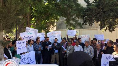 """صورة الأطباء يحتجون والرئاسي يوقف """"القرار المثير"""""""