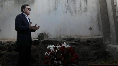زيارة فائز السراج قبور الليبيين المنفيين في أوستيكا