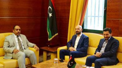 Photo of وزير صحة الوفاق يلتقي مستشار رئيس وزراء مالطا