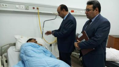 "Photo of بوجواري يزور ""جرحى تازربو"" في بنغازي"