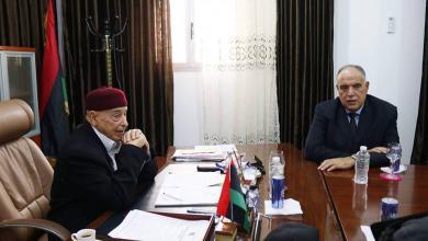 Photo of عقيلة و بوشناف يناقشان الوضع في تازربو