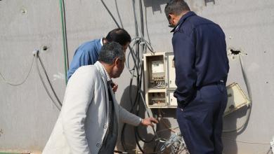 توصيلات الكهرباء المُخالفة بمنطقة الجفارة