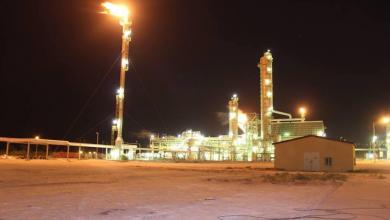 صورة إعادة تشغيل مصنع الميثانول الأول