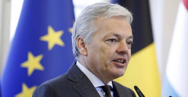 وزير الخارجية البلجيكي ديديير رايندرز