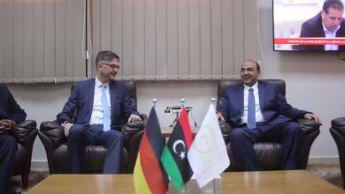السفير الألماني في ضيافة بلدية بنغازي