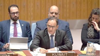 مندوب الكويت الدائم لدى الأمم المتحدة السفير منصور العتيبي