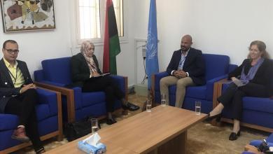 اجتماع نائبة المبعوث الأممي إلى ليبيا ستيفاني ويليامز مع ممثلين عن شباب المجتمع المدني من بنغازي والجنوب الليبي - طرابلس