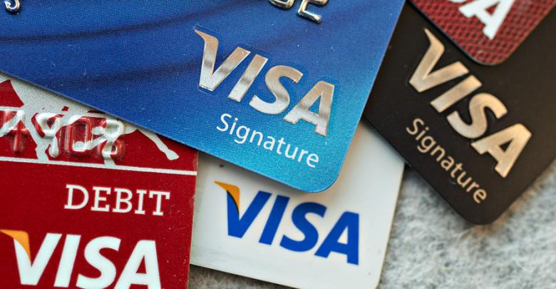 بطاقات فيزا - تعبيرية