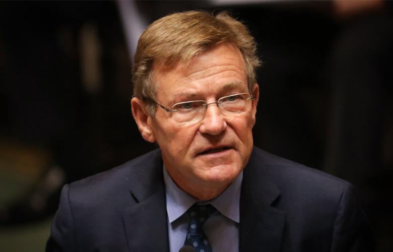 """وزير المالية البلجيكي """"يوهان فان أوفرفليت"""""""