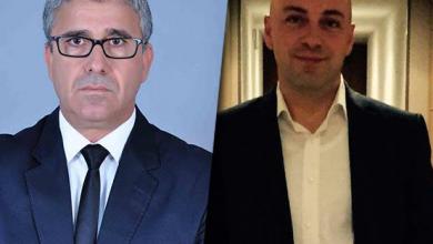 نيفيل غافا ووزير الداخلية فتحي باشاغا