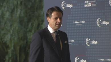 رئيس الوزراء الإيطالي جوزيبي كونتي - باليرمو