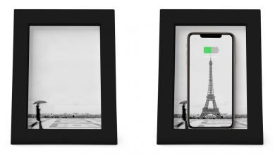 صورة تكنولوجيا بلمسة جمالية.. هذا البرواز يشحن هاتفك لاسلكيًا