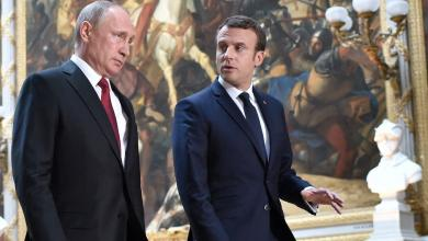 ليبيا تجمع بوتين وماكرون