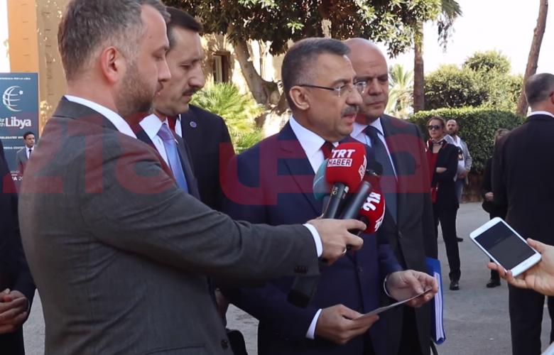 نائب الرئيس التركي فؤاد أوكتاي - باليرمو