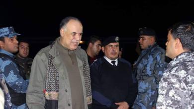 إبراهيم بوشناف - جولة تفقدية على التمركزات الأمنية