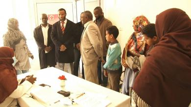 """Photo of """"الخدمات الصحية"""" تتفقد مراكز التطعيمات في تراغن"""