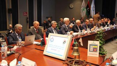 اجتماع شركة مليتة بحضور مصطفى صنع الله