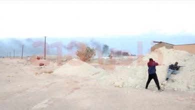 صورة قتيل و12 جريحاً في اشتباكات تراغن