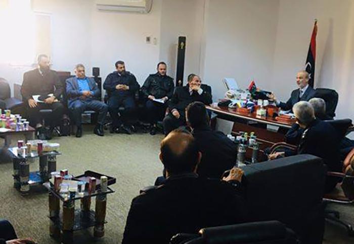 الإدارة العامة لأمن المنافذ بوزارة الداخلية في حكومة الوفاق