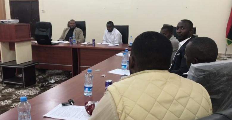 الاجتماع الثاني لنقابة المختبرات الليبية - اوباري