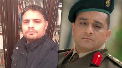 العقيد حاتم صابر ورئيس المركز الليبي للدراسات الأمنية عادل الطلحي