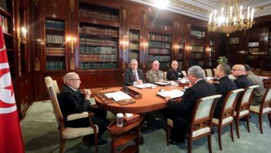 اجتماع للرئيس التونسي الباجي قايد السبسي- إرشيفية