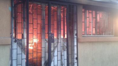 Photo of اندلاع حريق بمدرسة علي وريث في طرابلس