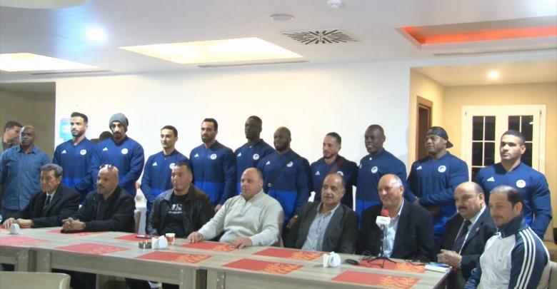بعثة المنتخب الليبي لبناء الأجسام المشارك في البطولة الأفريقية