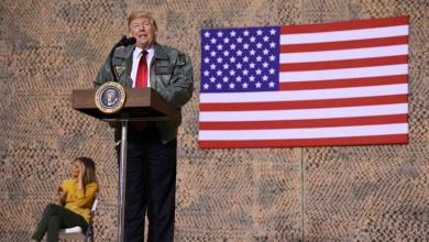 صورة ترامب في العراق بلا موعد