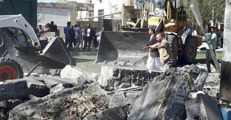 تفجير انتحاري في إيران