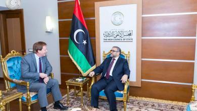 Photo of المشري وبيكر يبحثان المستجدات في ليبيا